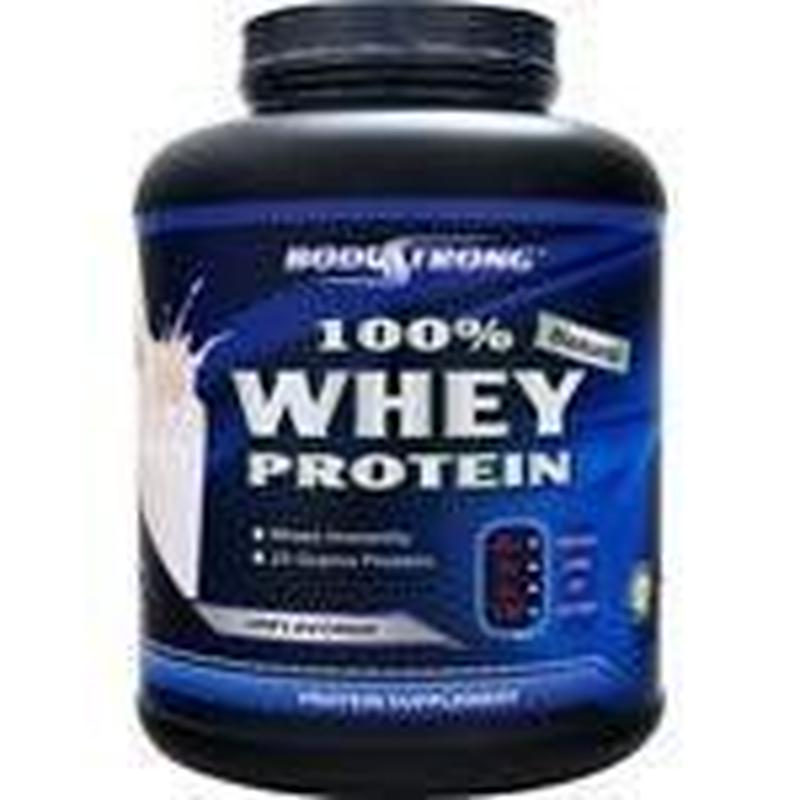 BodyStrong 100%ホエイプロテイン 無風味  2,268g