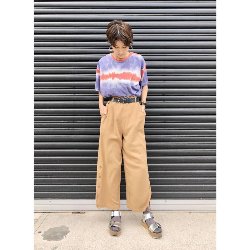 【style zampa】サイドボタンパンツ