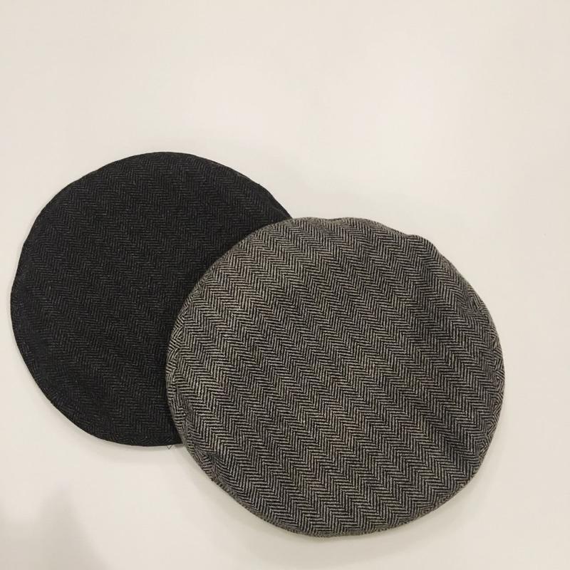 Praia ヘリンボーンベレー帽