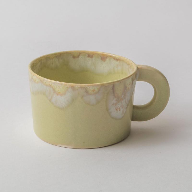 Melt series mug cup-雪どけ