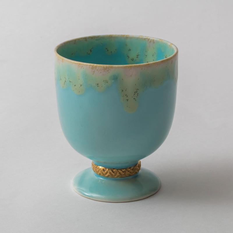 Melt series gold cup-湖