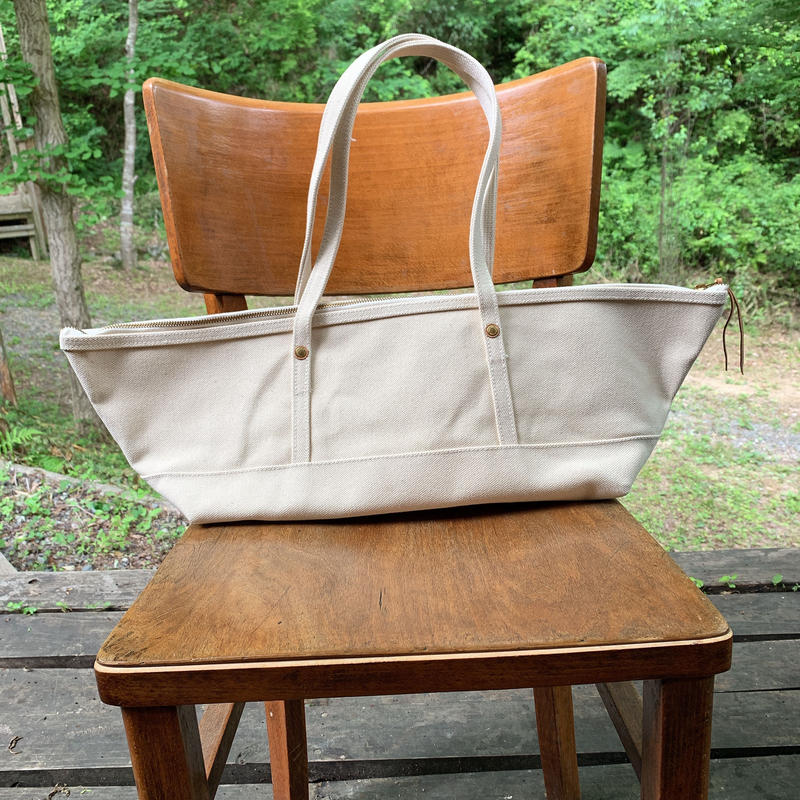 45.canvas boat bag L