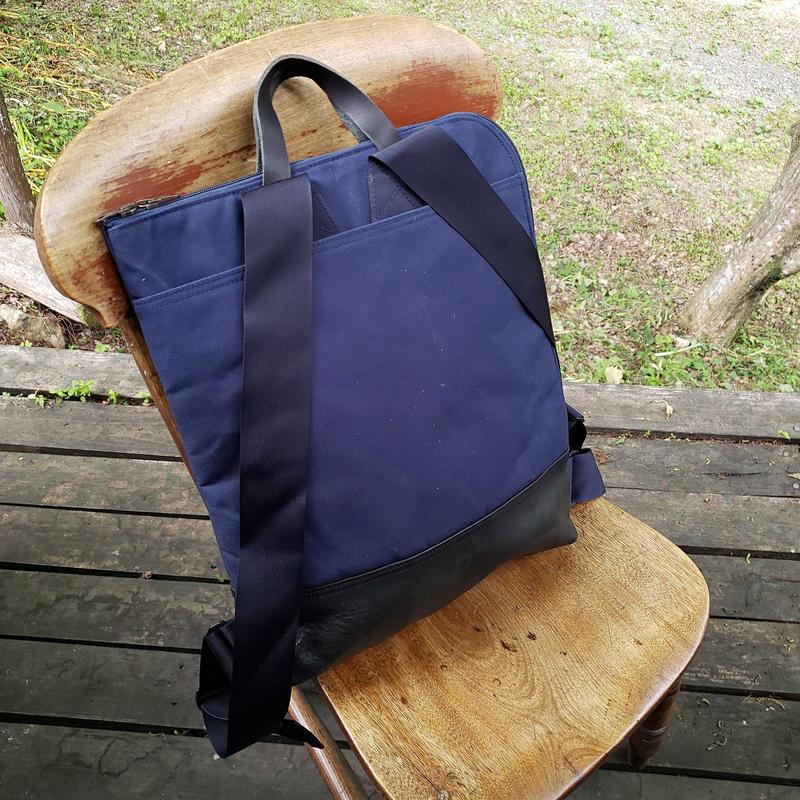 51.smart back pack canvas