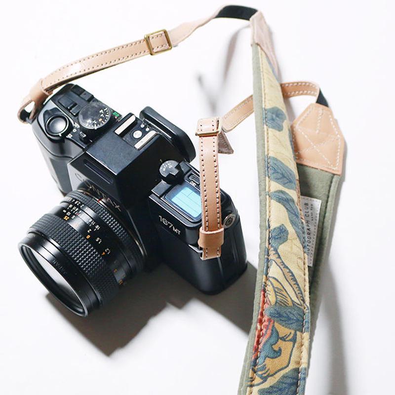 【THE SUPERIOR LABOR 】William morris camera strap