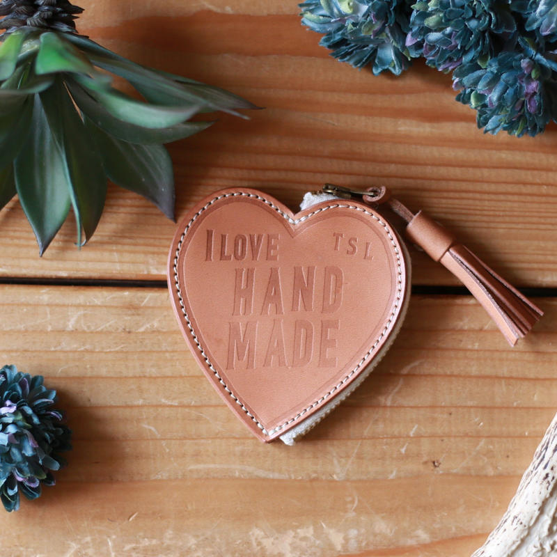 【THE SUPERIOR LABOR 】I LOVE HAND MADE  coin case