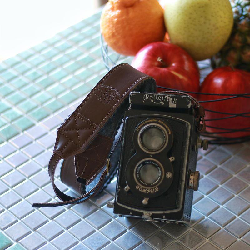 【THE SUPERIOR LABOR 】leather camera strap