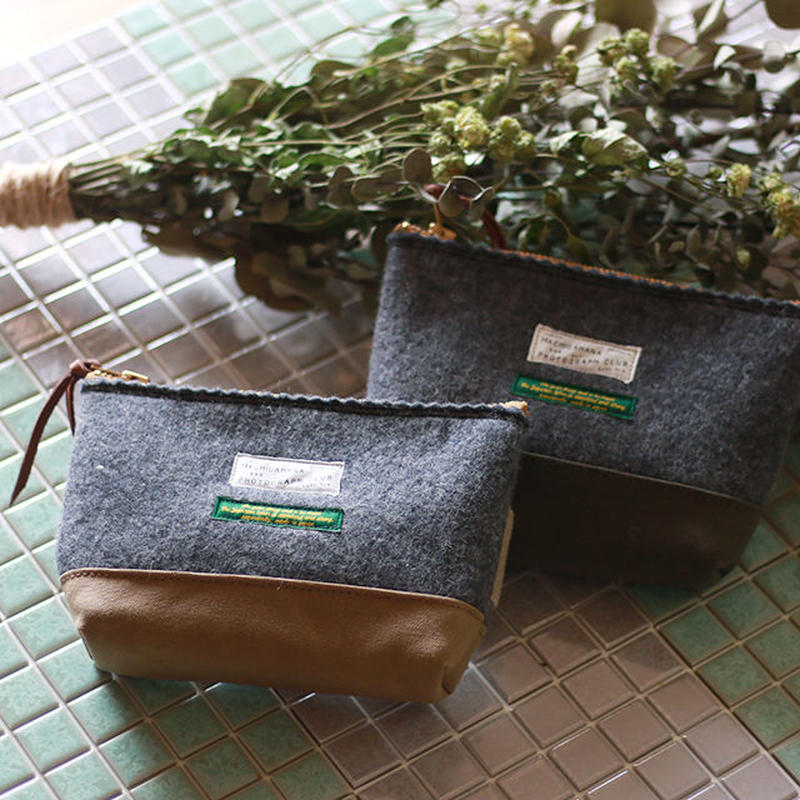 【THE SUPERIOR LABOR 】felt pouch S