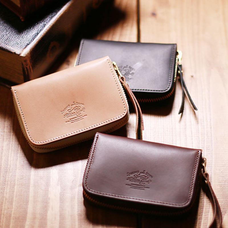 【THE SUPERIOR LABOR 】zip small wallet(ジップスモールウォレット)