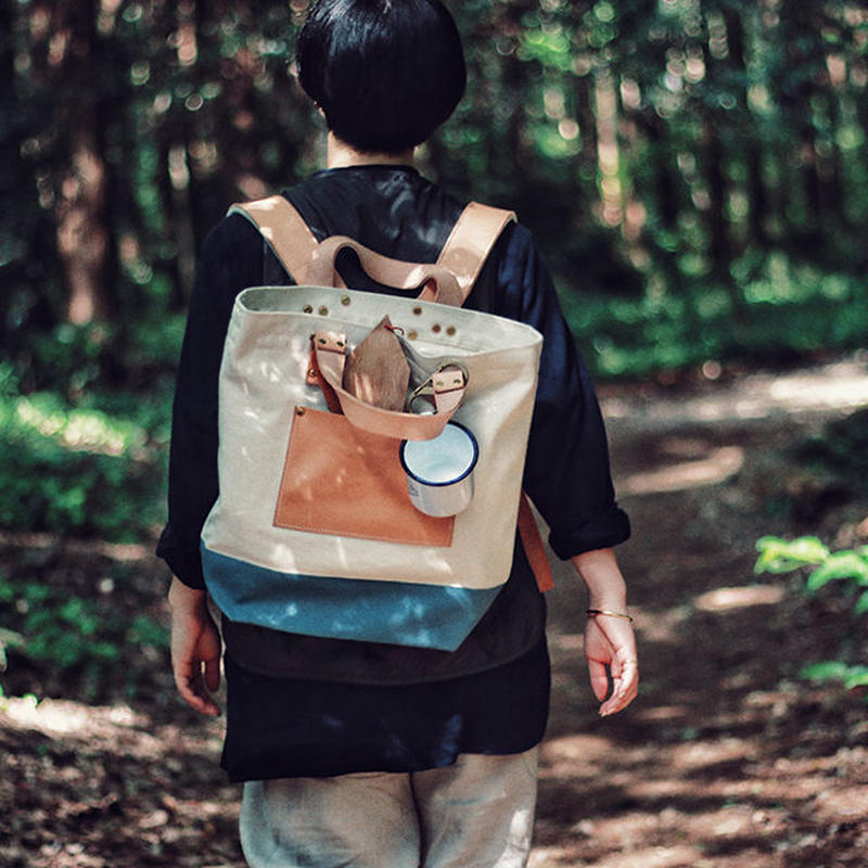【THE SUPERIOR LABOR 】canvas 2way backpack
