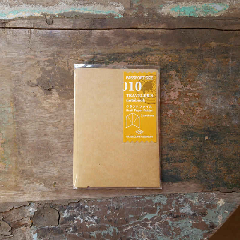 【TRAVELER'S notebook】リフィル クラフトファイル パスポートサイズ