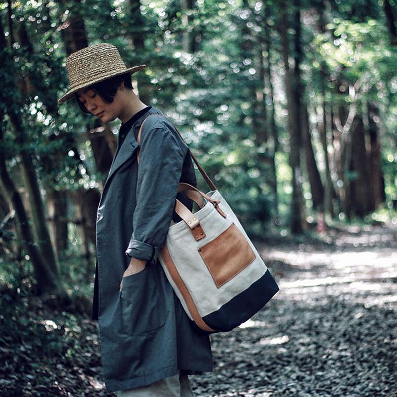 【THE SUPERIOR LABOR 】canvas 2way bag