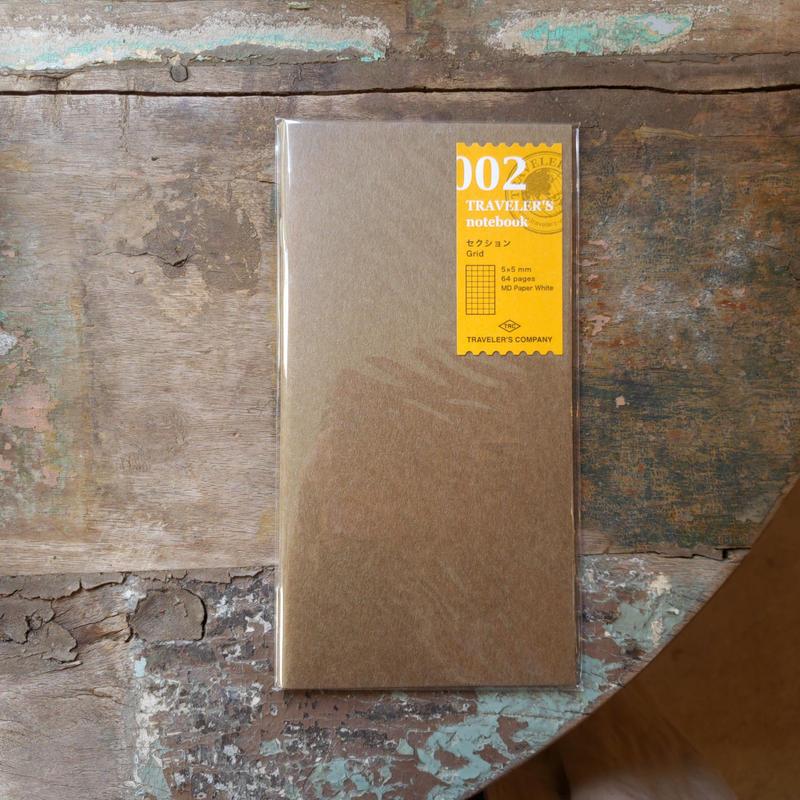 【TRAVELER'S notebook】リフィル セクション