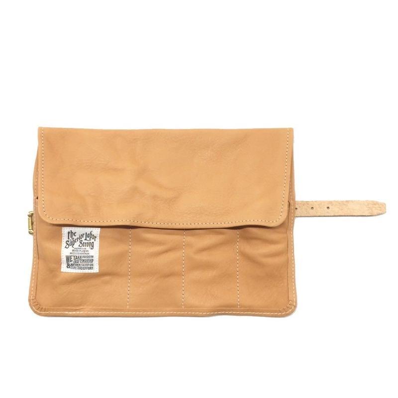 【THE SUPERIOR LABOR】leather roll pen case(レザーロールペンケース)
