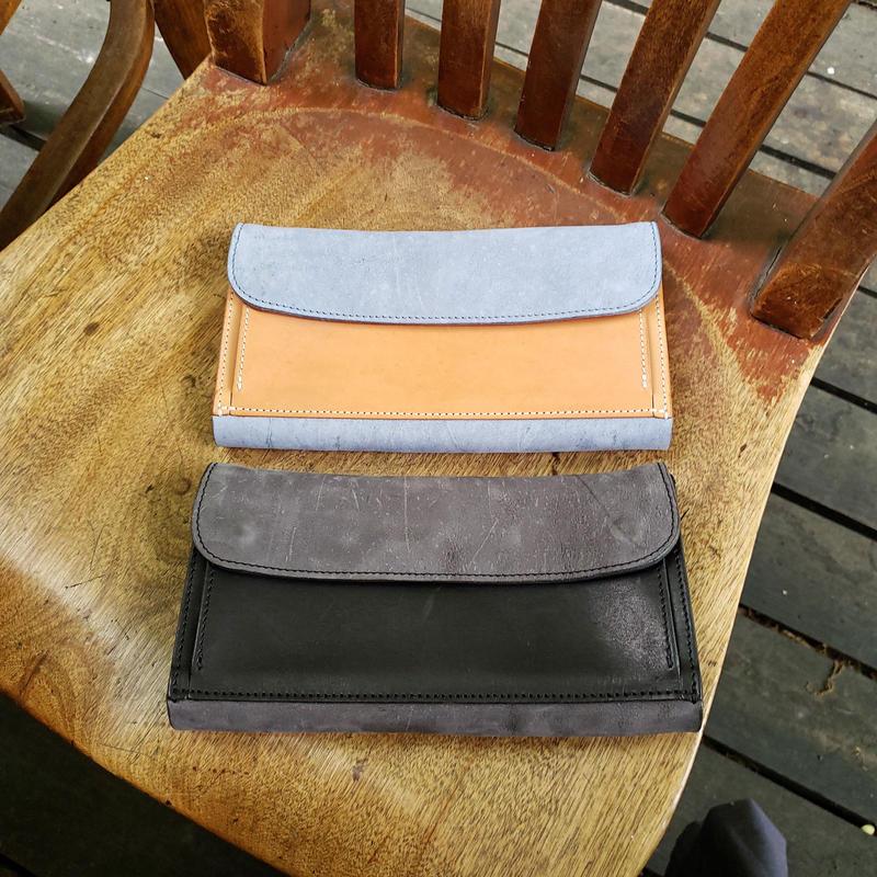 28.outside pocket long wallet