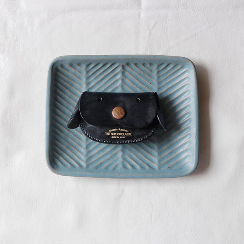 【THE SUPERIOR LABOR 】bridle dog coin case-black