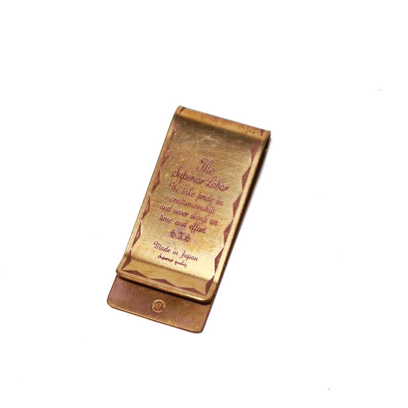 【THE SUPERIOR LABOR 】superior money clip(シュペリオール マネークリップ)