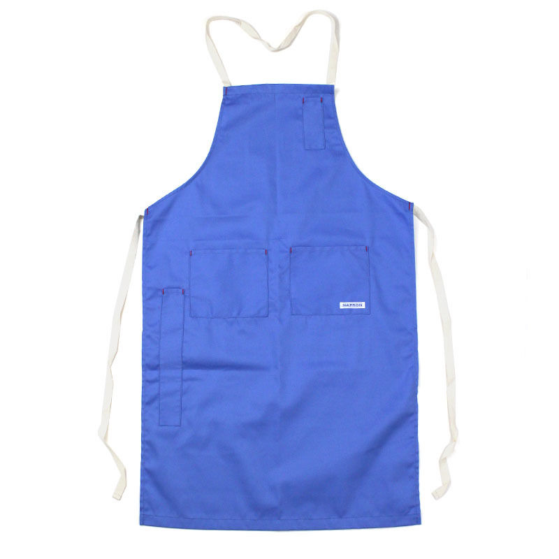 NPBL_4POCKET FULL APRON_BLUE