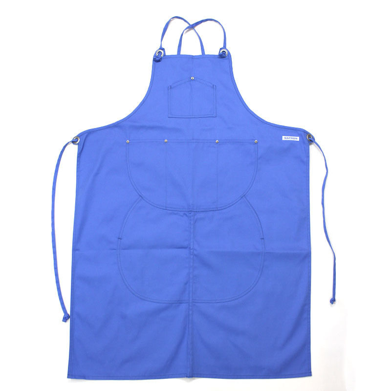 NPBL_SPLIT APRON_BLUE
