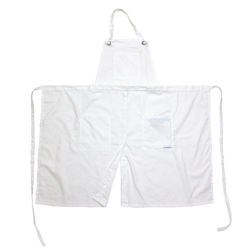 NPBL_UTILITY 2WAY APRON_WHITE