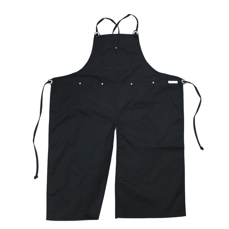 NPBL_SPLIT APRON_BLACK