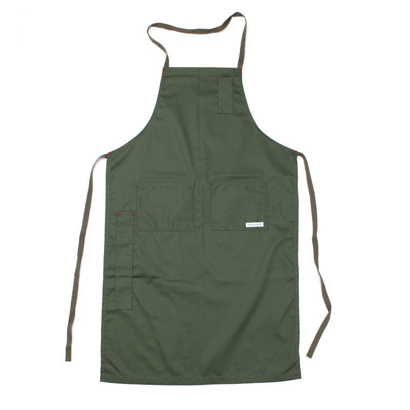 NPBL_4POCKET FULL APRON_OLIVE