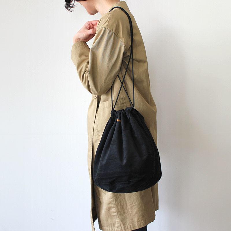 【限定】PATIENTS BAG CORDUROY_BLACK