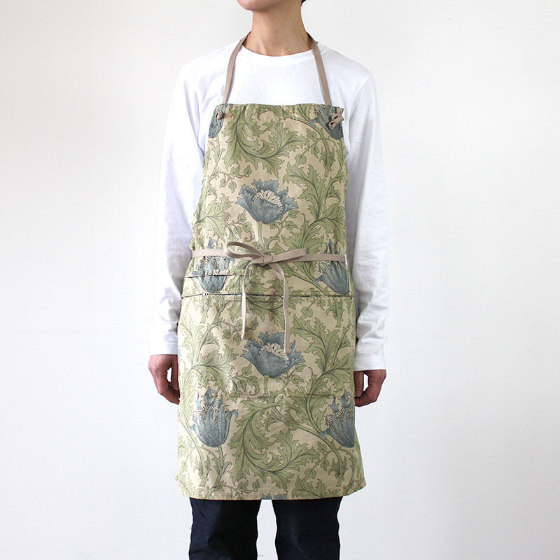 HUNTER FULL APRON_BEIGE