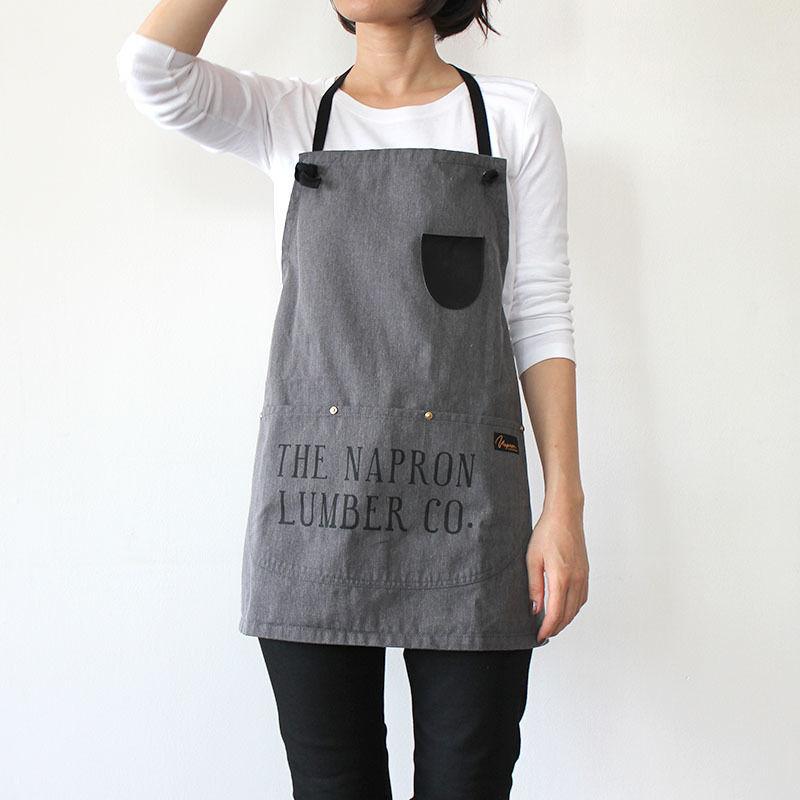 【直営店限定】LUMBER BIB APRON_GRAY
