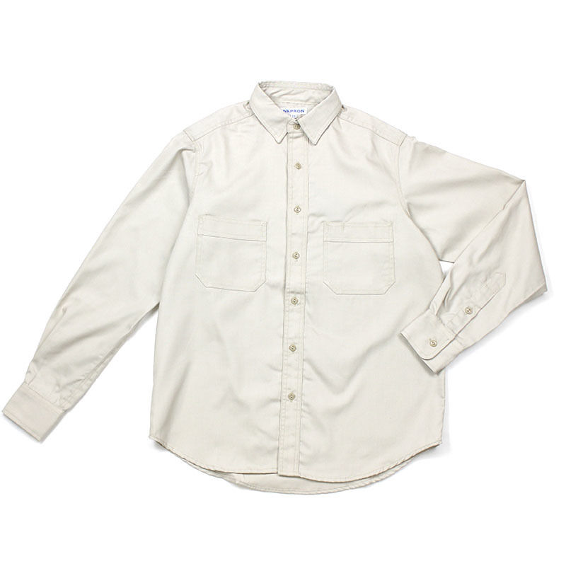 NPBL_WORK SHIRT_L.BEIGE