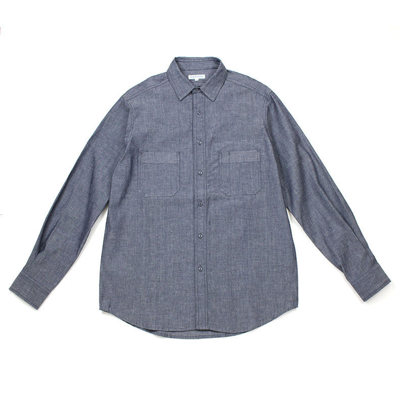 NPBL_WORK SHIRT_INDIGO