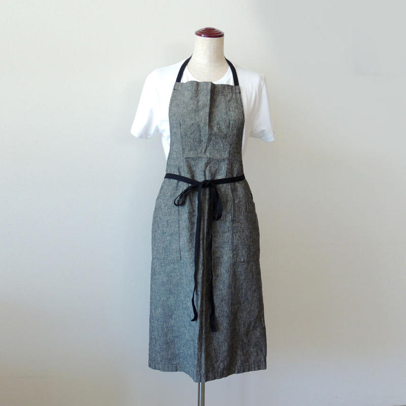15 EURO FARM FULL APRON_BLACK