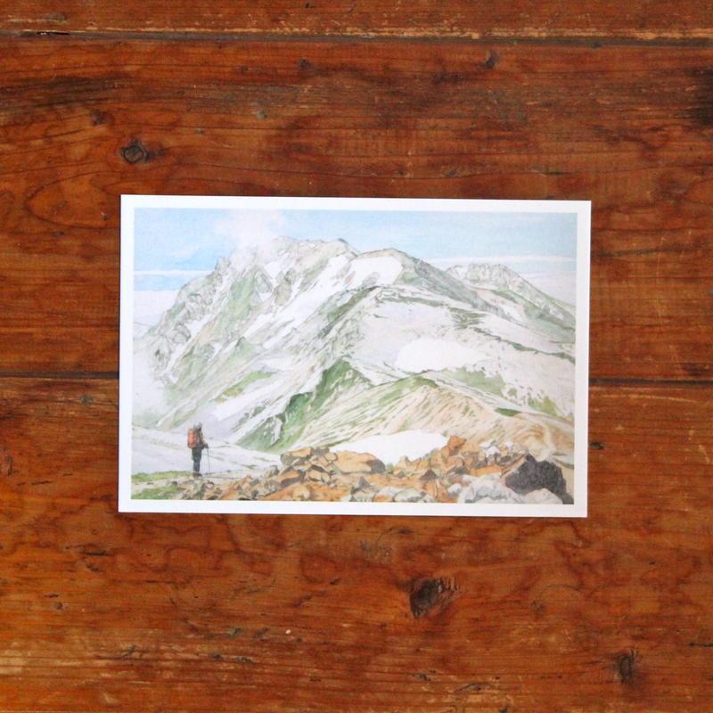 白馬岳(ポストカード)