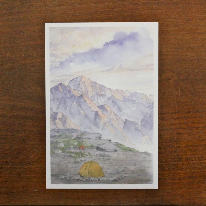 剱岳の朝日(ポストカード)