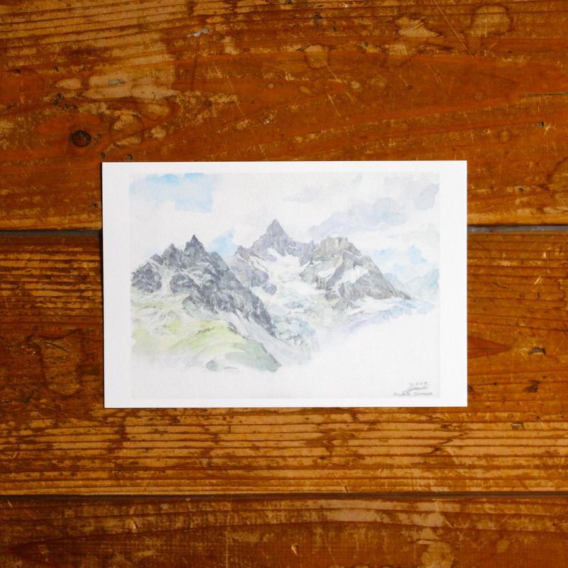 名前も知らない山々(ポストカード)