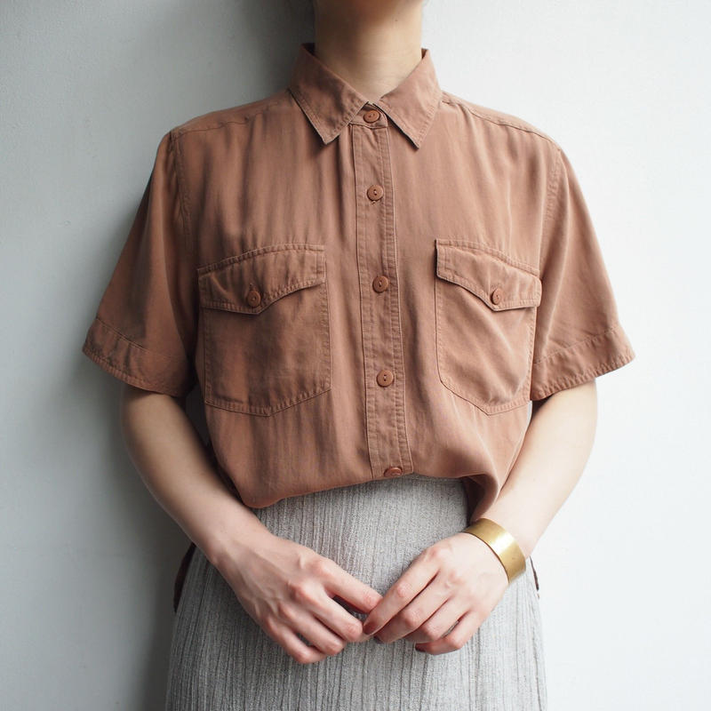 Dull Brick color shirt