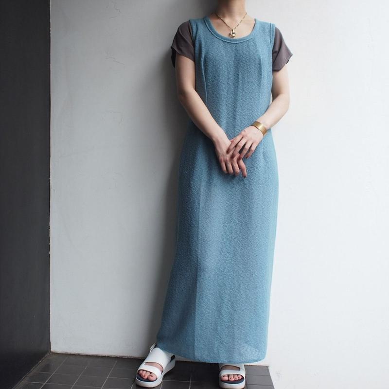Smokey blue cutsewing dress