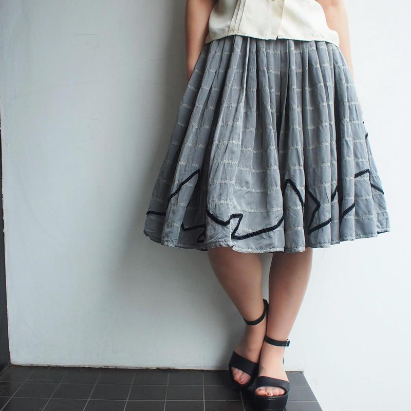 DOLCE&GABBANA flare skirt