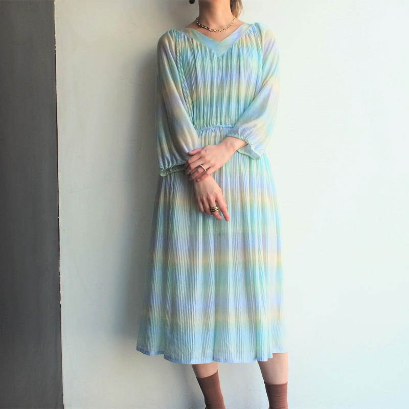 Made in England Pleats dress