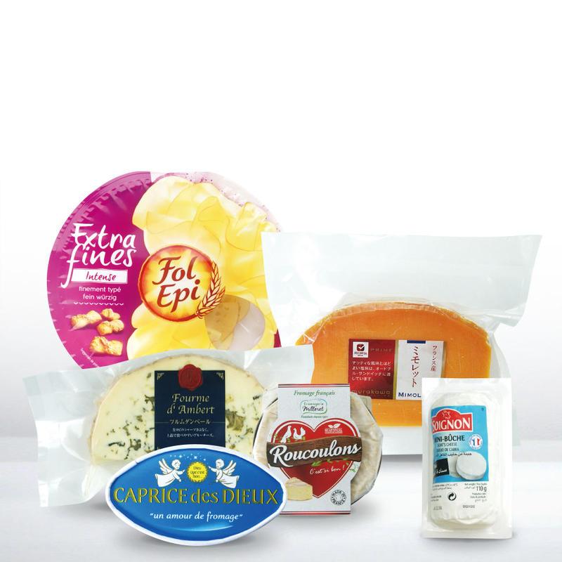 当店売れ筋!フランス産ナチュラルチーズセット