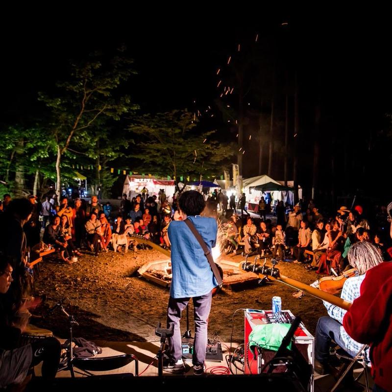 道志村キャンプ Natural High!ー山と川と村のまつりー 入場チケット