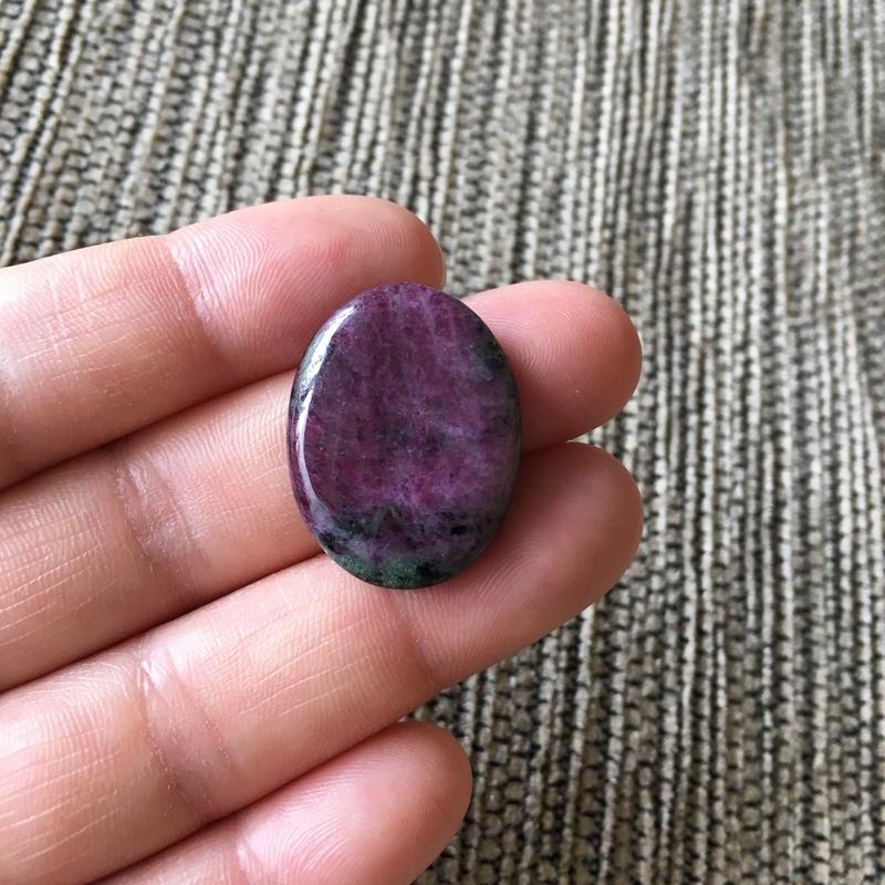 ルビーインゾイサイト(No.2)/天然石ルース(裸石)