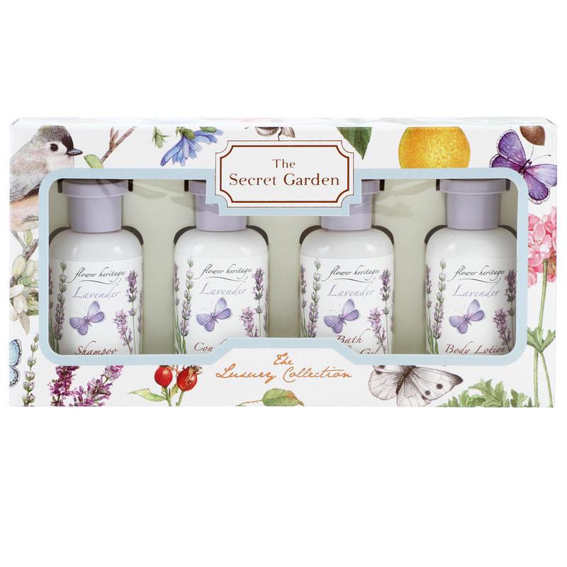 Lavender トラベルキット (ヘア&ボディ) 30mlx4本 ★1個購入ごとにもう一つプレゼント