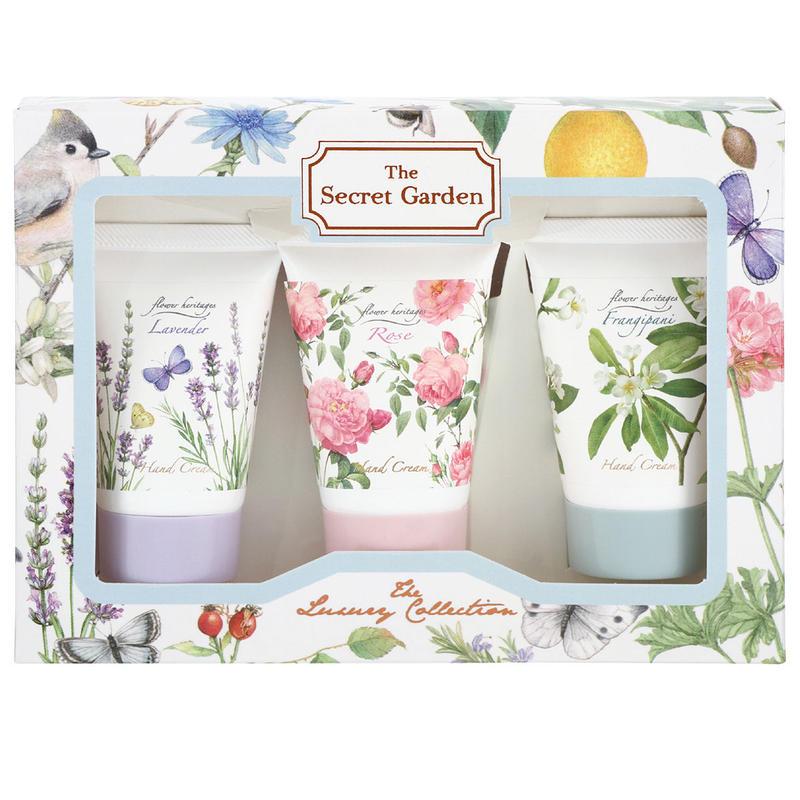Flower Heritage ハンドクリーム 40g 3種 ギフトセット