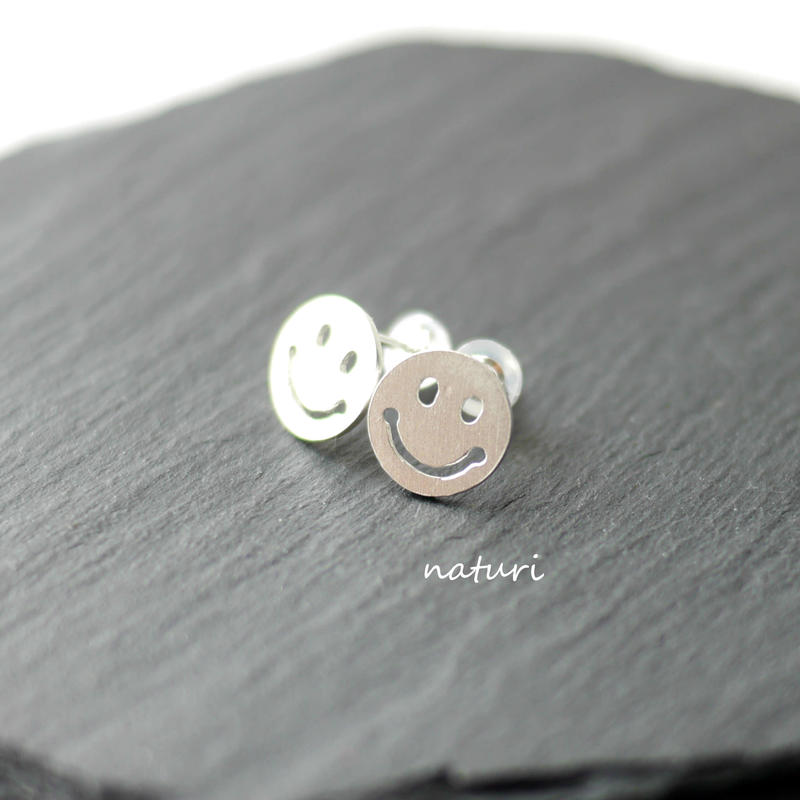 【sourire】sv925 smile pierce (2pcs)