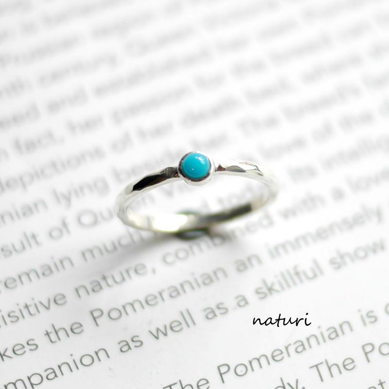 【tronc】sv925 turquoise ring