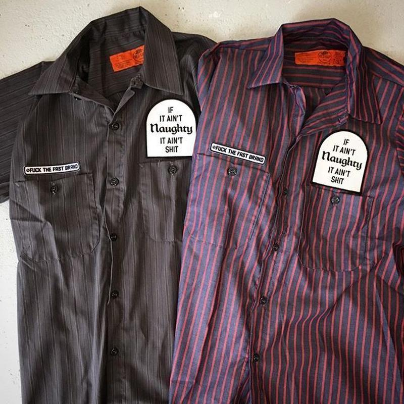 FTFB S/S STRIPE SHIRTS