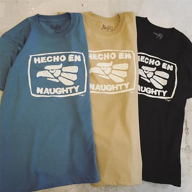 HECHO EN NAUGHTY S/S Tee