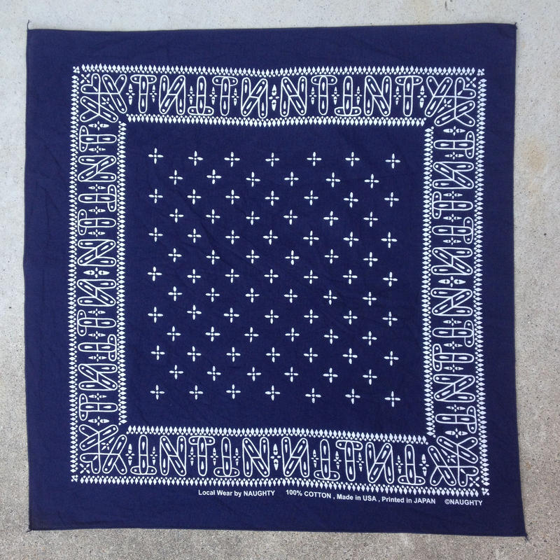 """NT"" cross BANDANA"