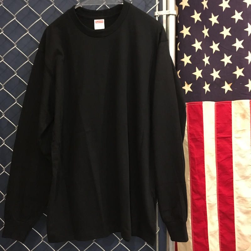 Supreme / PLAIN L/S T-SHIRT
