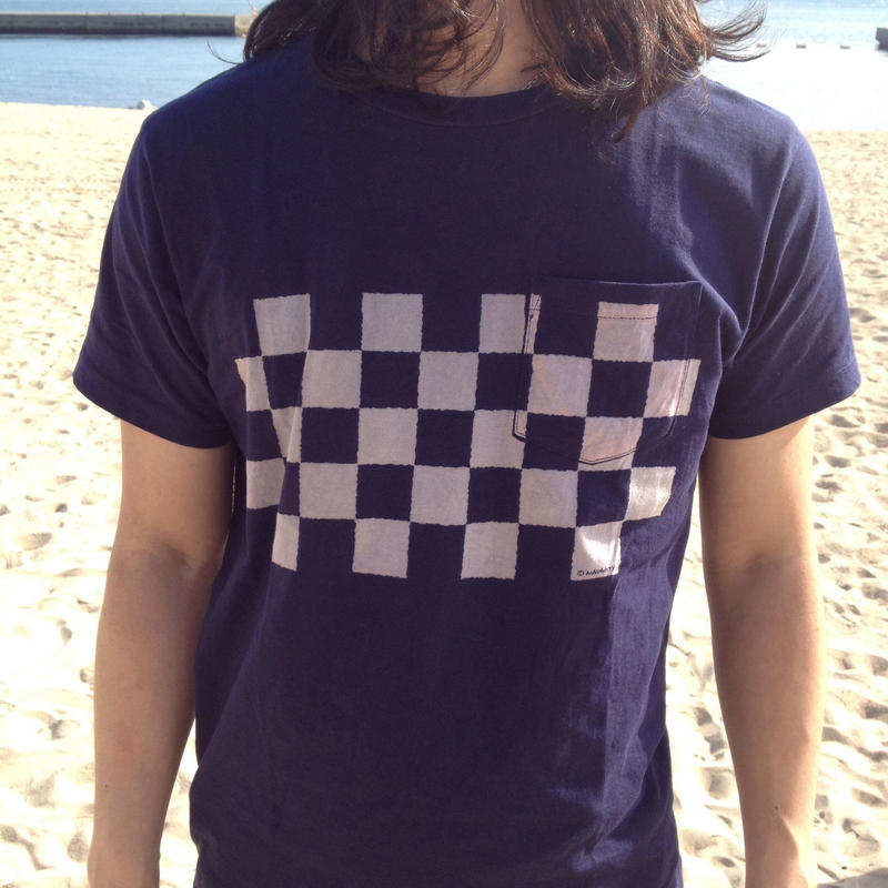 CHECKERED Pocket Tee